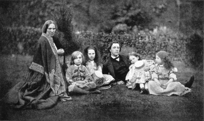 louisa_4_children_w_lewis_carroll_1862